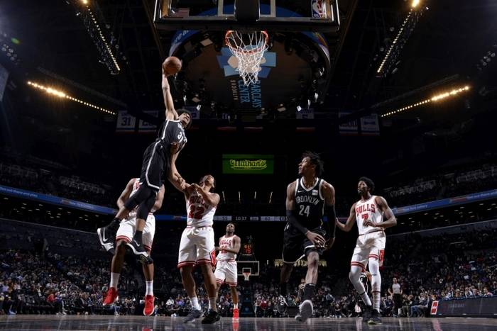 Матч «Бруклин Нетс» – «Чикаго Буллз». Фото: Brooklyn Nets